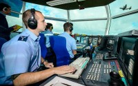 RAF Brize Norton Air Traffic Control at work